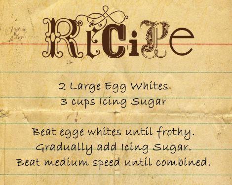 Hard Icing Recipe